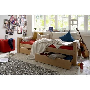Review Lipscomb European Single Bed With Drawer