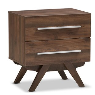 Perryman 2 Drawer Nightstand by George Oliver