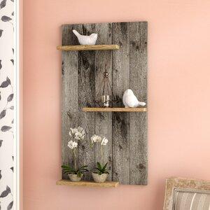 Wood Mod Wall Shelf