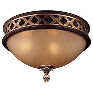 Check Prices Mcmillian 2-Light Flush Mount By Astoria Grand