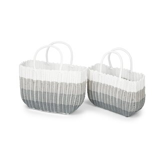 2 Piece Picnic Tote Bag Set By Brambly Cottage