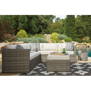 Rosecliff Heights Woodstock Sectional with Ottoman