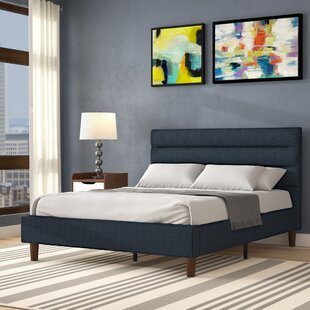 Review Barrios Upholstered Platform Bed