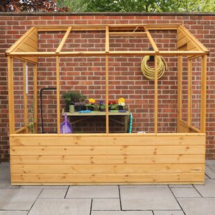 Mcburney 4 Ft W X 8 Ft D Lean-To Greenhouse By Sol 72 Outdoor
