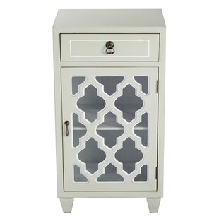 Rockville 1 Door Accent Cabinet by World Menagerie