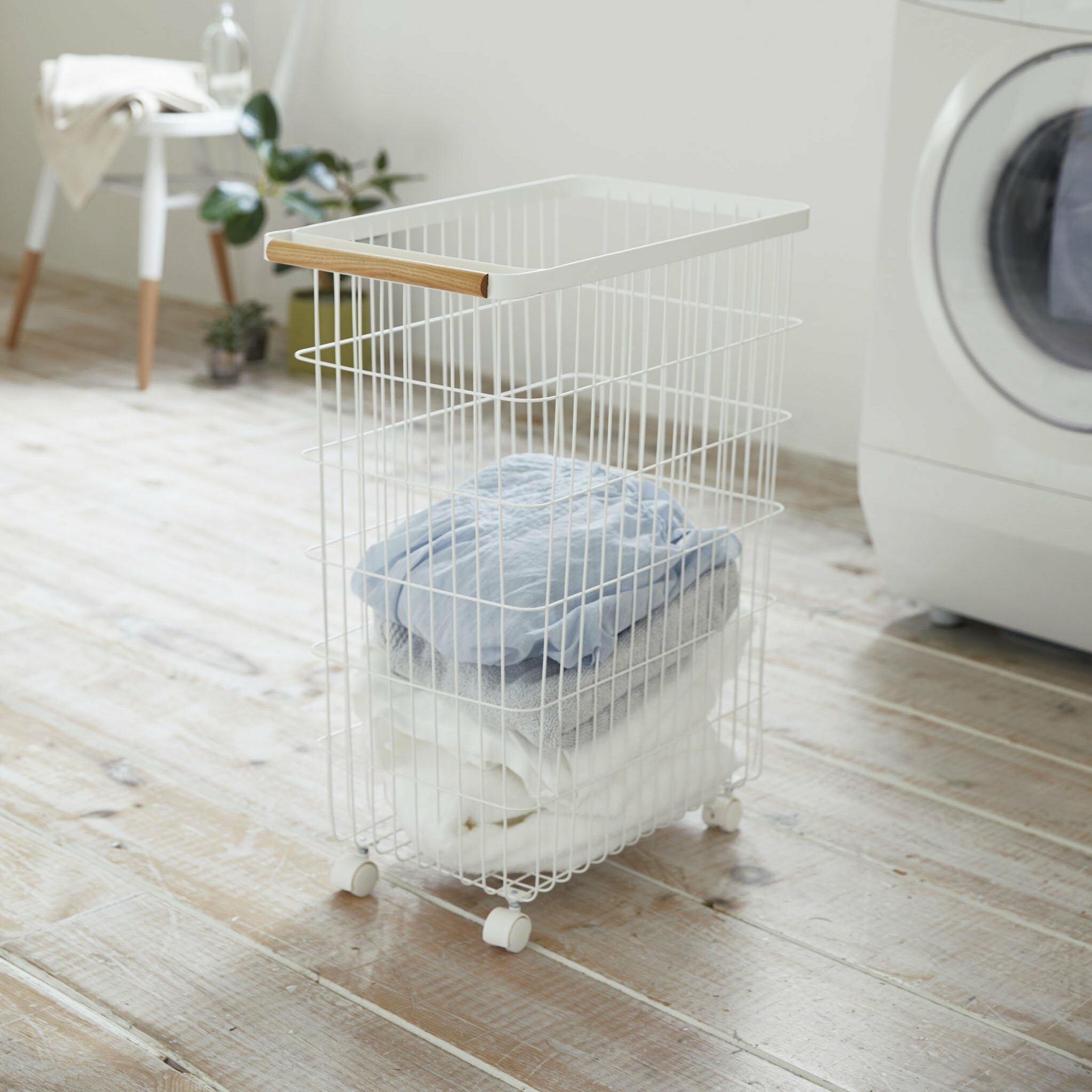Tosca Slim Rolling Laundry Basket Reviews