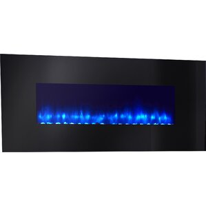 Linear Wall Mount Electric Fireplace by Simplifire