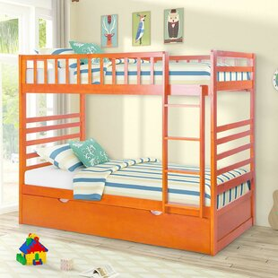 Great choice Spell Twin Over Twin Bunk Bed with Trundle by Harriet Bee Reviews (2019) & Buyer's Guide