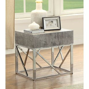 Rousseau End Table by Bray..