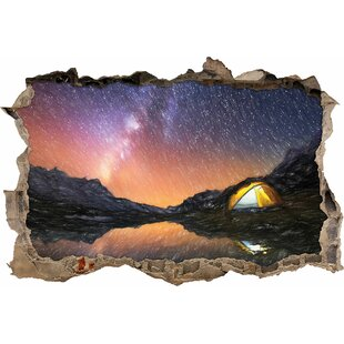 Camping Under Thousands Of Stars Wall Sticker By East Urban Home