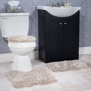 Non-Slip 3 Piece Bath Rug Set