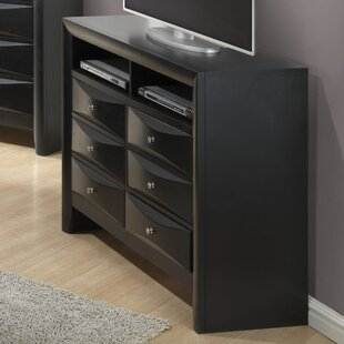 Towslee 6 Drawer Media Chest