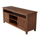 Arbyrd Solid Wood TV Stand for TVs up to 65 by Millwood Pines