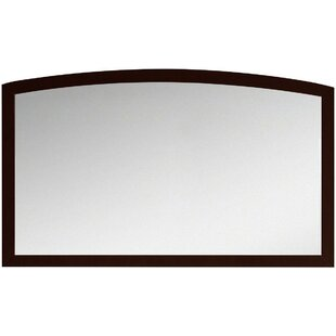 Royal Purple Bath Kitchen Cataldo Rectangular Birch Wood-Veneer Wall Mirror