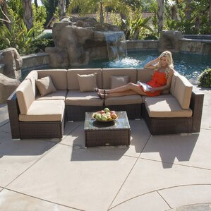 Modern Aluminum Patio Furniture modern aluminum patio furniture | wayfair