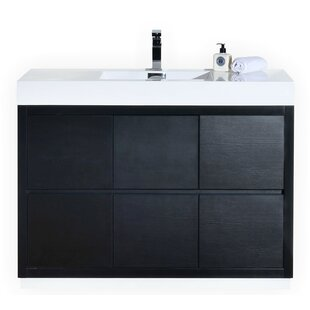 modern single sink bathroom vanities. Tenafly 48\ Modern Single Sink Bathroom Vanities