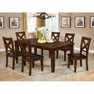 Jovany Extendable Solid Wood Dining Table Red Barrel Studio
