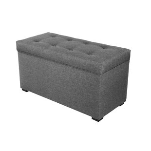 Savings Ariadne Fabric Storage Bench By Winston Porter