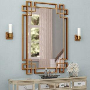 Art Deco Gold Mirror Wayfair