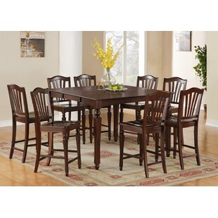 Ashworth 9 Piece Counter Height Pub Table Set DarHome Co