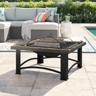 Price comparison Bastille Steel Wood Burning Fire Pit Sol 72 Outdoor