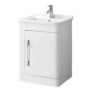 All Home 57 cm Einzelwaschbeckenunterschrank-Set Savannah