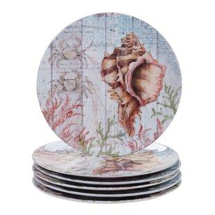 Higbee Melamine Dinner Plate (Set of 6)