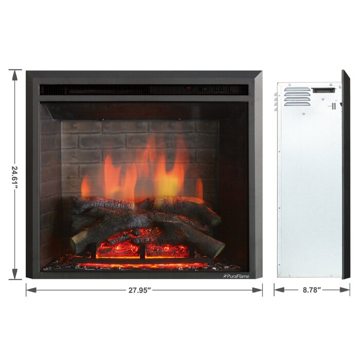 fireplace double best inserts electric two insert canada sided images