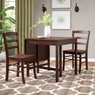 Torrance 3 Piece Drop Leaf Dining Set Red Barrel Studio