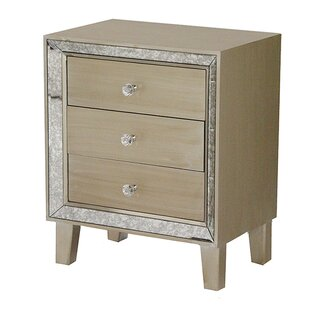 Ginny 3 Drawer Accent Chest