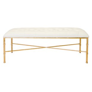 Bamboo Upholstered Bench