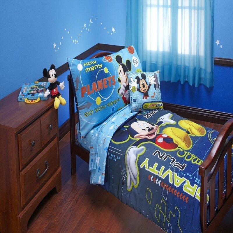 Room Magic Pirate Pals 5 Piece Soft Goods Nursery Set Bedding Sets
