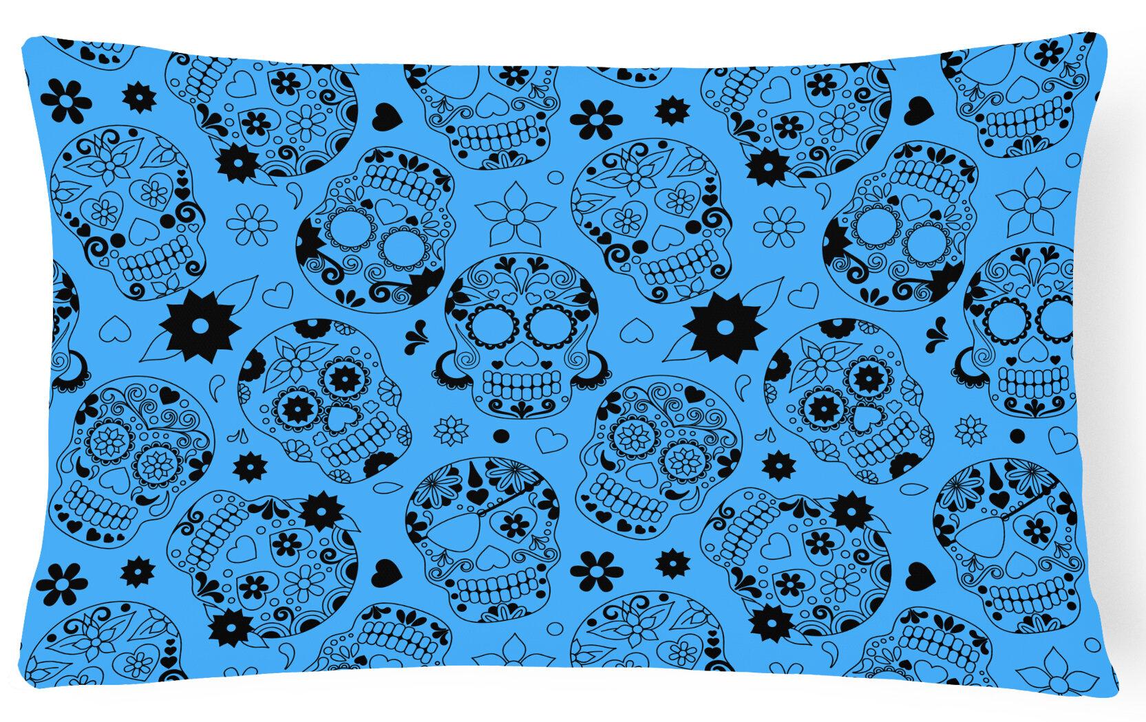 East Urban Home Day Of The Dead Lumbar Pillow Wayfair