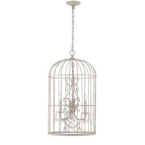 Irfan 3-Light Foyer Pendant by Ophelia & Co.