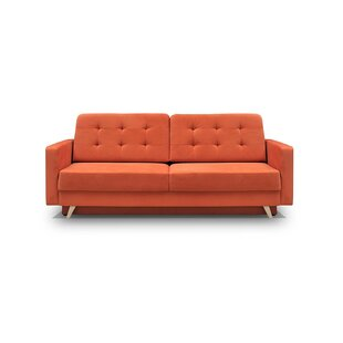 Burnt Orange Velvet Sofa Wayfair