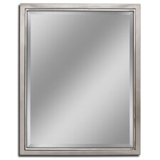 Bathroom Mirror Chrome modern bathroom mirrors | allmodern