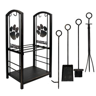 6 Piece Iron Fireplace Tool Set By Imperial International