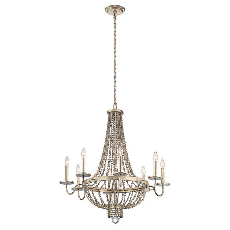 Mistana erik 8 light empire chandelier reviews wayfair erik 8 light empire chandelier aloadofball Gallery