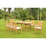 Selby Luxurious 9 Piece Teak Dining Set