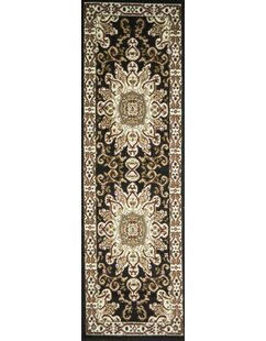 Buy clear Staveley Hand-Tufted Black/White Area Rug By Charlton Home