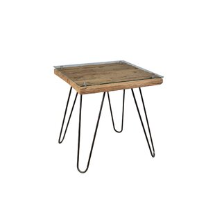 Lutz End Table by Union Rustic