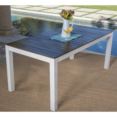 Veronica Wooden Dining Table by Highland Dunes Best Choices