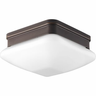 Ebern Designs Nason 1-Light Flush Mount