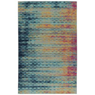 Sequoia Turquoise Indoor/Outdoor Area Rug