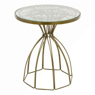 Purchase Cevenola Wire Work End Table by Bungalow Rose