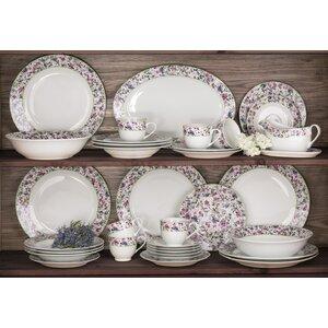 Bloomsbury Floral 35 Piece Dinnerware Set