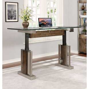 Lafreniere Standing Desk with Bookcase