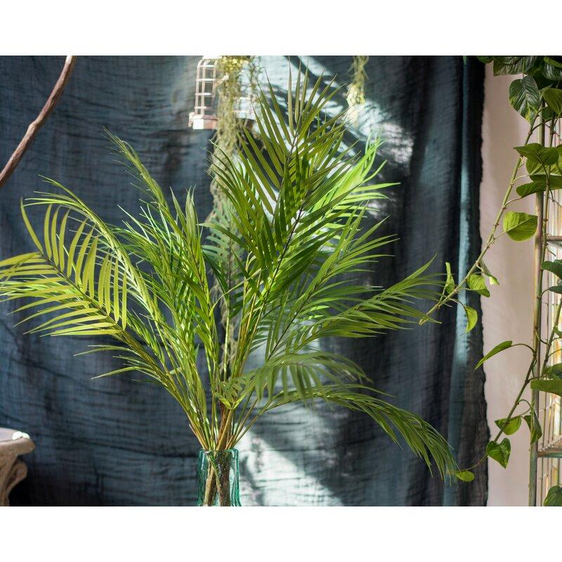 Bay Isle Home Stem 5 Leaf Artificial Bundle Kwai Grass Wayfair