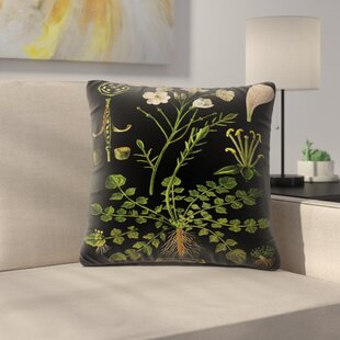 Cuckoo Flower Throw Pillow