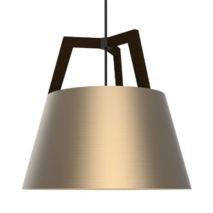 Cerno Imber 1-Light Cone Pendant